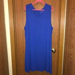 BNW/out Tag Ava & Viv sz 4x Jersey Swing Dress!!!